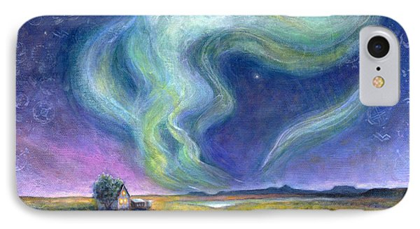 Echoes In The Sky IPhone Case by Retta Stephenson