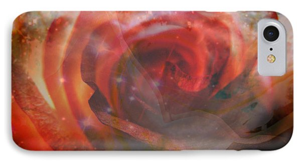 Echoes Of The Rose Phone Case by Judy Paleologos