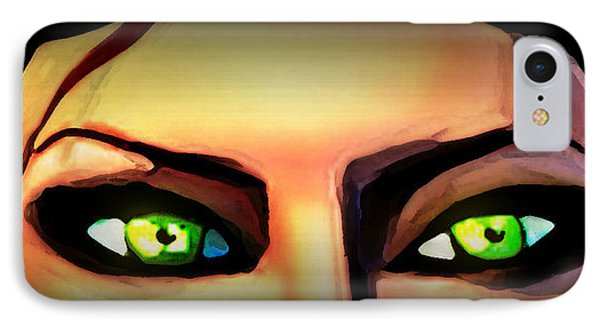Echo's Eyes IPhone Case by Persephone Artworks