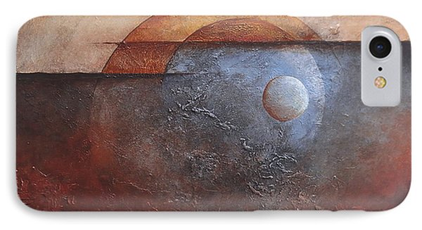 IPhone Case featuring the painting Eclipse by Buck Buchheister