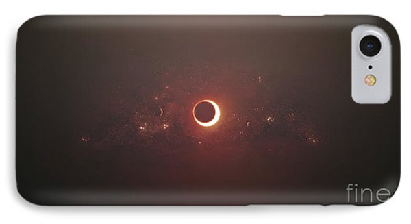 Eclipse Of The Sun In Nearby Solar IPhone Case by Tomasz Dabrowski