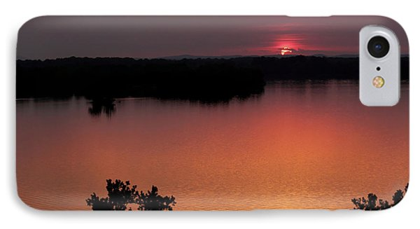 Eclipse Of The Sunset IPhone Case by Jason Politte