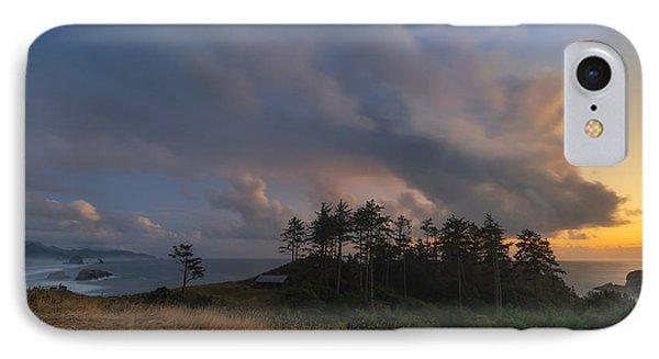 Ecola And The Oregon North Coast IPhone Case