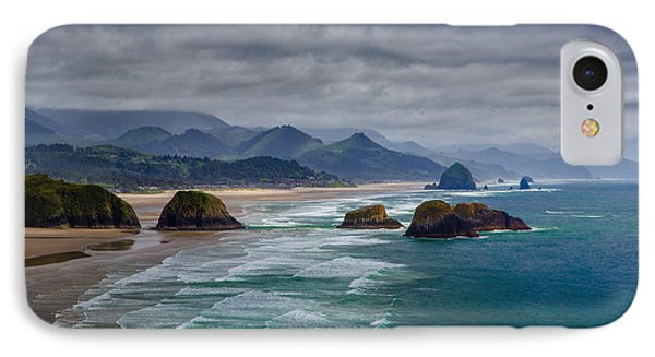 Ecola Viewpoint IPhone Case by Rick Berk