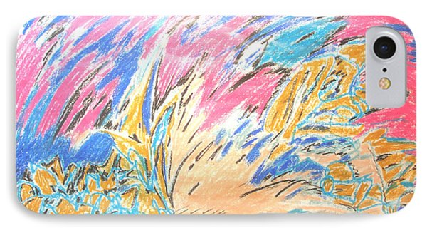 IPhone Case featuring the painting Ecstasy by Esther Newman-Cohen