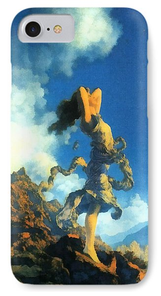 Ecstasy IPhone Case by Maxfield Parrish