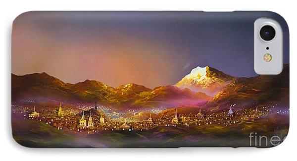 Ecuadorian Art Scene IPhone Case by Al Bourassa