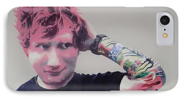 IPhone Case featuring the painting Ed by Cherise Foster