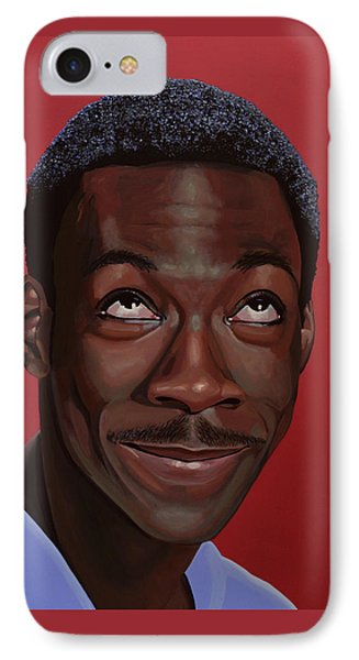 Eddie Murphy Painting IPhone Case