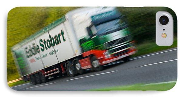 Eddie Stobart Lorry Phone Case by Amanda Elwell