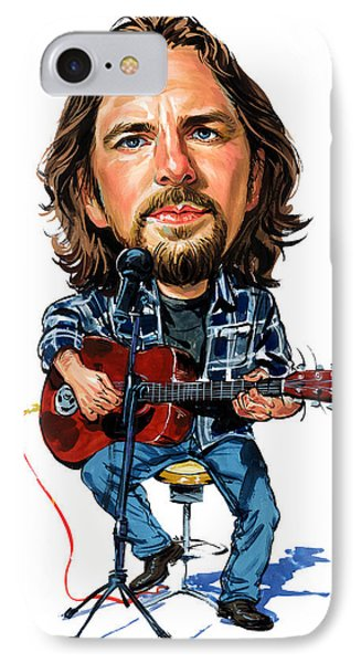 Eddie Vedder Phone Case by Art
