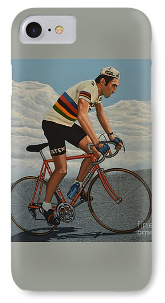 Eddy Merckx Phone Case by Paul Meijering