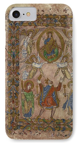 Edgar Offers Charter To Christ IPhone Case by British Library