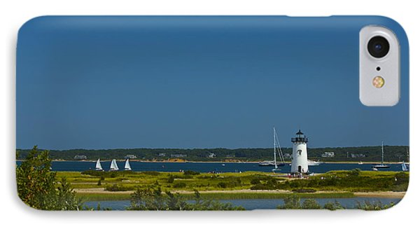 Edgartown Lighthouse IPhone Case by Amazing Jules