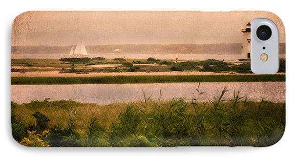 Edgartown Lighthouse Phone Case by Bill Wakeley
