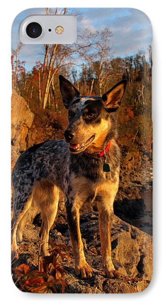 IPhone Case featuring the photograph Edge Of Glory by James Peterson