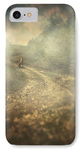 Edge Of The World Phone Case by Taylan Apukovska