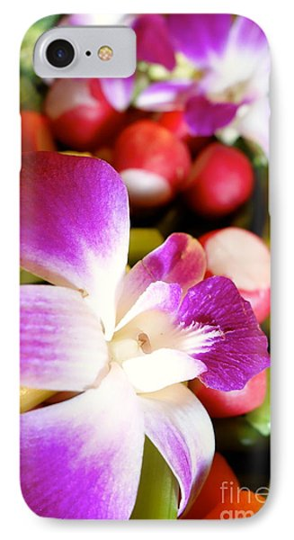 Edible Flowers Phone Case by Jacqueline Athmann