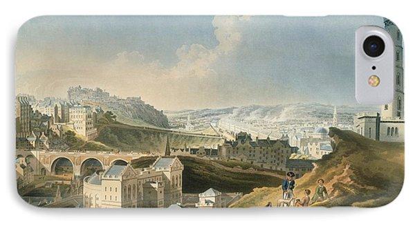 Edinburgh Cityscape, 1810 IPhone Case