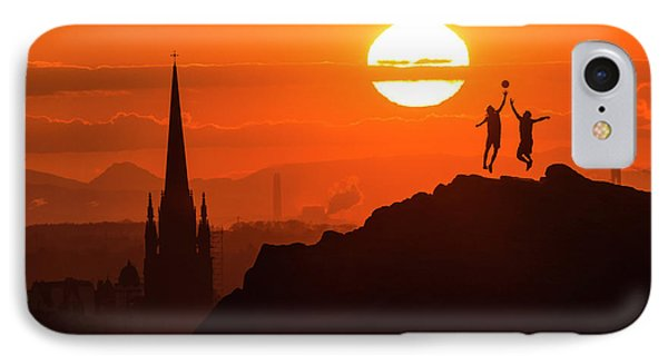 Edinburgh Tip Off IPhone Case