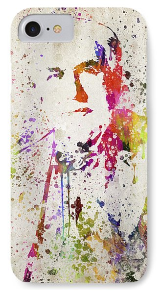 Edison In Color IPhone Case by Aged Pixel