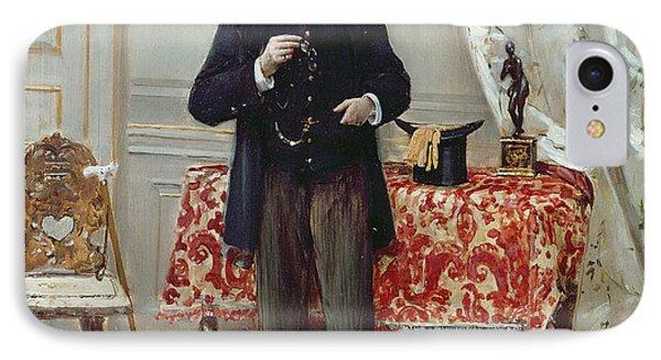 Edmond Taigny IPhone Case by Jean Beraud