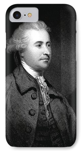 Edmund Burke IPhone Case by Collection Abecasis