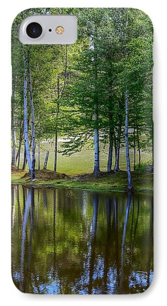 Edson Hill Reflections IPhone Case by John Nielsen