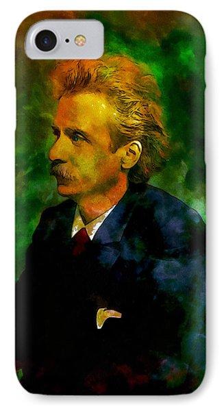 Edvard Grieg IPhone Case by Kai Saarto