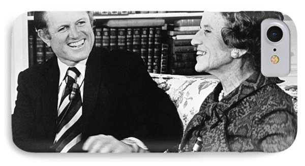 Edward And Rose Kennedy IPhone Case by Underwood Archives