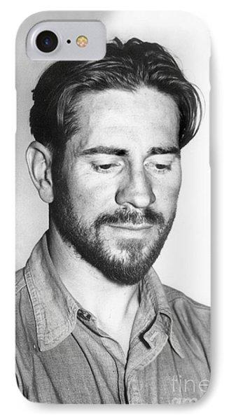 Edward Flanders Robb Ricketts       May 14 1897  May 11 1948  IPhone Case by California Views Mr Pat Hathaway Archives