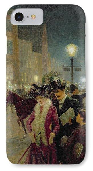 Edwardian London Phone Case by Eugene Joseph McSwiney