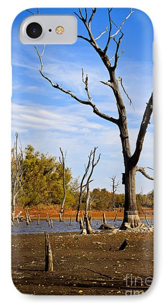 IPhone Case featuring the photograph Effects Of Drought by Lawrence Burry
