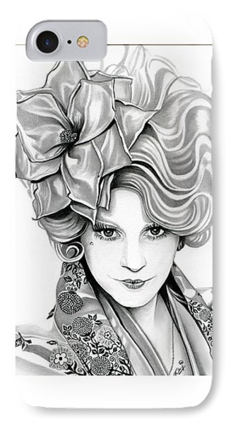 Effie Trinket - The Hunger Games IPhone Case by Fred Larucci