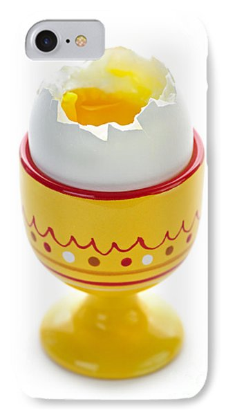 Egg In Cup IPhone Case by Elena Elisseeva