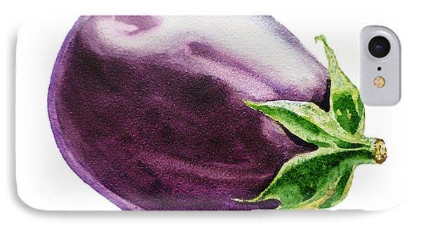Eggplant  Phone Case by Irina Sztukowski