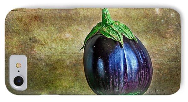 Eggplant Phone Case by Kaye Menner
