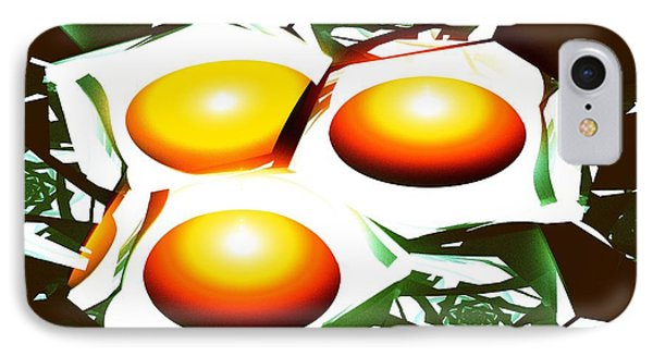 Eggs For Breakfast IPhone Case by Anastasiya Malakhova
