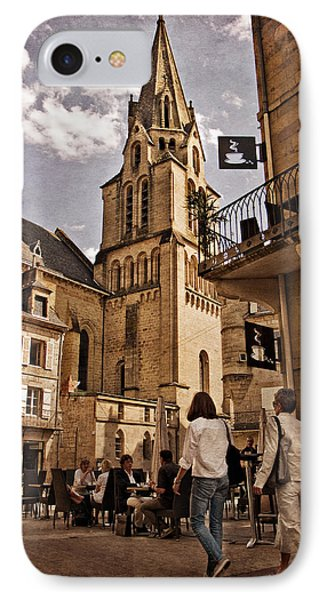 Eglise Saint Martin - Brive La Gaillarde IPhone Case by Barry O Carroll