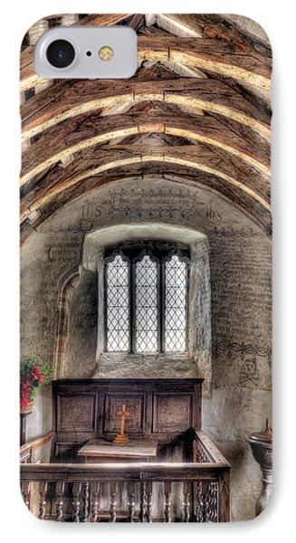 Eglwys Celynnin Sant Phone Case by Adrian Evans