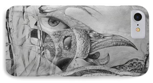 Ego-bird-fish Nesting Ground Phone Case by Otto Rapp