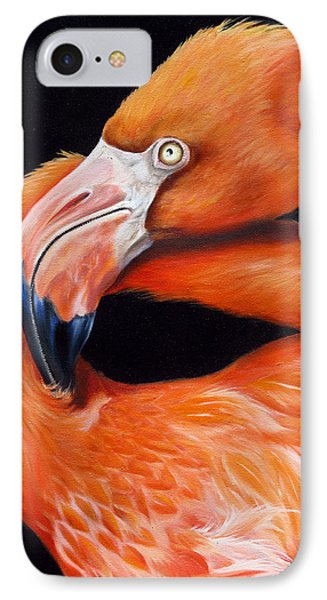 IPhone Case featuring the painting EGO by Phyllis Beiser