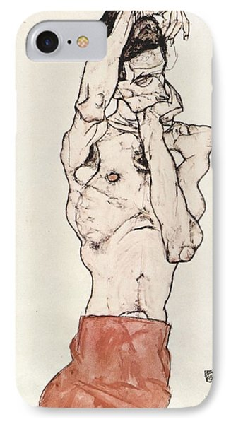 Egon Schiele      IPhone Case by Celestial Images