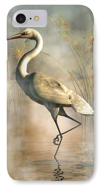 Egret IPhone Case by Daniel Eskridge