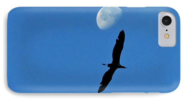 IPhone Case featuring the photograph Egret Flight by Charlotte Schafer