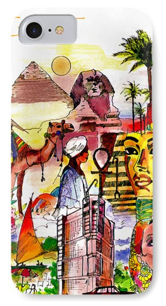 Egypt Phone Case by George Rossidis