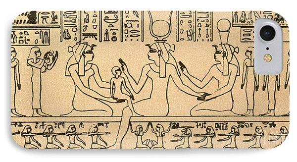 Egyptian Fresco IPhone Case by Granger