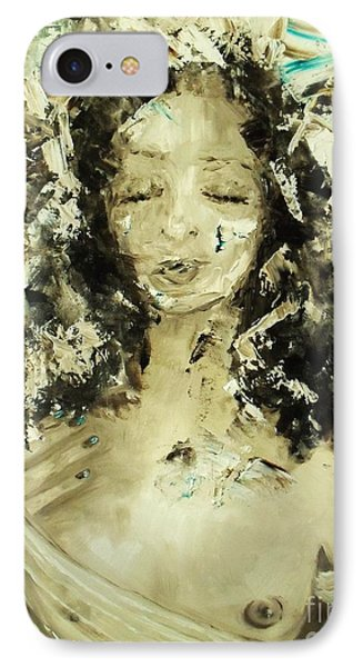 IPhone Case featuring the painting Egyptian Goddess by Laurie L