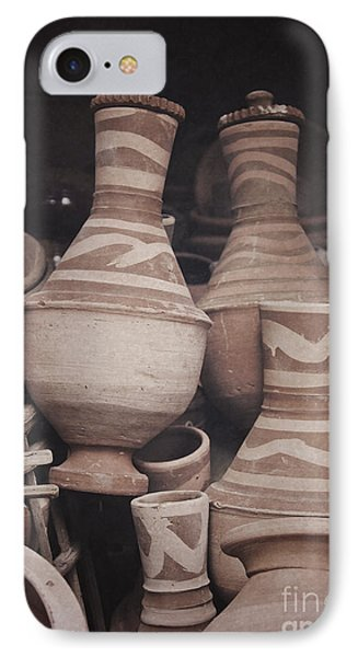 Egyptian Hand Made Traditional Bowl Of Cold Water IPhone Case by Mohamed Elkhamisy