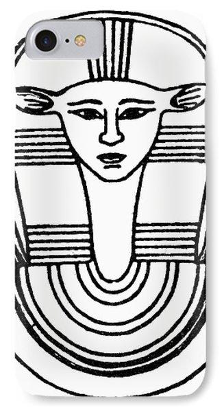Egyptian Symbol Hathor IPhone Case by Granger